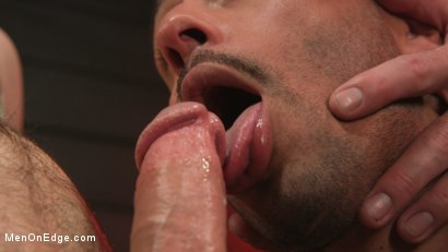 Photo number 4 from William Crown Gets His Big Hard Dick Choked And Edged shot for Men On Edge on Kink.com. Featuring William Crown in hardcore BDSM & Fetish porn.