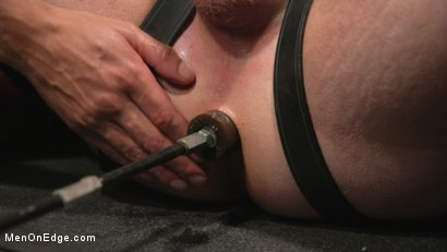 Photo number 10 from Back For More: Kip Johnson Returns For Aggressive Cockhandling shot for Men On Edge on Kink.com. Featuring Kip Johnson in hardcore BDSM & Fetish porn.