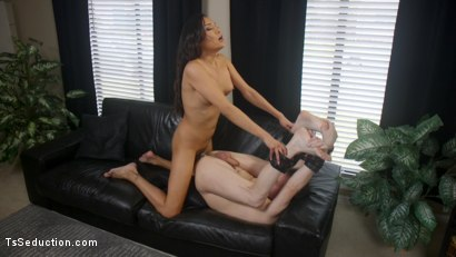 Photo number 11 from A Morning With Jessica Fox: Slave Marcelo Serves A Goddess shot for TS Seduction on Kink.com. Featuring Jessica Fox and Marcelo in hardcore BDSM & Fetish porn.
