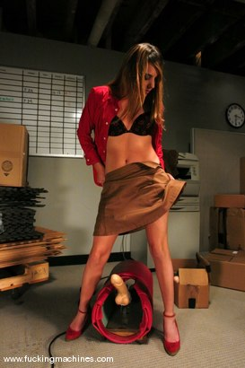 Photo number 1 from A whole other kind of watercooler action shot for Fucking Machines on Kink.com. Featuring Lexi Love in hardcore BDSM & Fetish porn.
