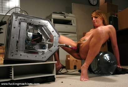 Photo number 7 from A whole other kind of watercooler action shot for Fucking Machines on Kink.com. Featuring Lexi Love in hardcore BDSM & Fetish porn.