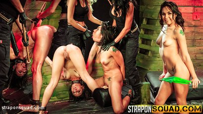 Isa Mendez Earns Another Lesbian Domination 3some