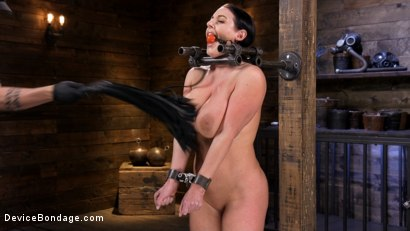 Photo number 2 from Angela White Begs to Suffer For Her Master in Metal Bondage shot for Device Bondage on Kink.com. Featuring Angela White in hardcore BDSM & Fetish porn.