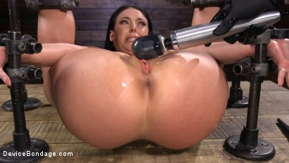 Photo number 13 from Angela White Begs to Suffer For Her Master in Metal Bondage shot for Device Bondage on Kink.com. Featuring Angela White in hardcore BDSM & Fetish porn.