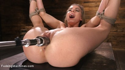 Photo number 8 from Petite Slut Lilly Lit Gets Machine Fucked in Bondage shot for Fucking Machines on Kink.com. Featuring Lilly Lit in hardcore BDSM & Fetish porn.