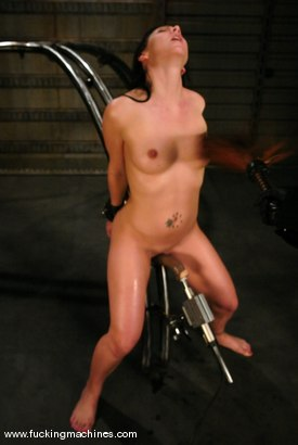 Photo number 13 from Julie Night takes on The DominateHer shot for Fucking Machines on Kink.com. Featuring Julie Night in hardcore BDSM & Fetish porn.