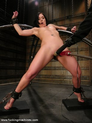 Photo number 2 from Julie Night takes on The DominateHer shot for Fucking Machines on Kink.com. Featuring Julie Night in hardcore BDSM & Fetish porn.