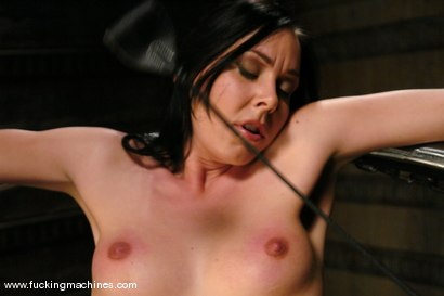 Photo number 4 from Julie Night takes on The DominateHer shot for Fucking Machines on Kink.com. Featuring Julie Night in hardcore BDSM & Fetish porn.