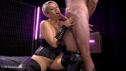 Photo number 9 from Kinky JOI: Helena Locke's Cum Eating Cuckold shot for Filth Syndicate on Kink.com. Featuring Helena Locke and D. Arclyte in hardcore BDSM & Fetish porn.