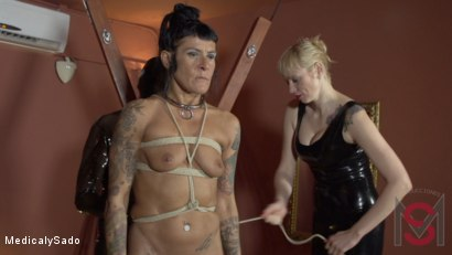 Photo number 19 from The Mistress' Revenge shot for Medical y Sado on Kink.com. Featuring Anna, Lorena Lee, Pou Fosc and Patricia MedicalySado in hardcore BDSM & Fetish porn.