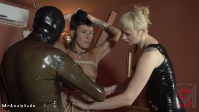 Photo number 10 from The Mistress' Revenge shot for Medical y Sado on Kink.com. Featuring Anna, Lorena Lee, Pou Fosc and Patricia MedicalySado in hardcore BDSM & Fetish porn.