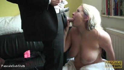 Photo number 7 from Kaz Squirting For the First Time in her Life! shot for Pascals Sub Sluts on Kink.com. Featuring Kaz B and Pascal White in hardcore BDSM & Fetish porn.