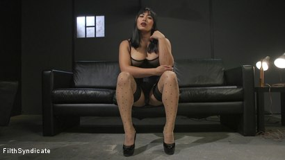 Photo number 1 from Kinky JOI: Mia Little's Slave Auditions shot for Filth Syndicate on Kink.com. Featuring Mia Little in hardcore BDSM & Fetish porn.