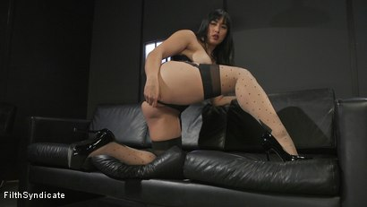 Photo number 13 from Kinky JOI: Mia Little's Slave Auditions shot for Filth Syndicate on Kink.com. Featuring Mia Little in hardcore BDSM & Fetish porn.