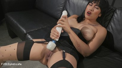 Photo number 19 from Kinky JOI: Mia Little's Slave Auditions shot for Filth Syndicate on Kink.com. Featuring Mia Little in hardcore BDSM & Fetish porn.