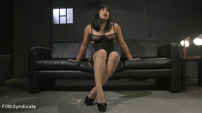 Photo number 4 from Kinky JOI: Mia Little's Slave Auditions shot for Filth Syndicate on Kink.com. Featuring Mia Little in hardcore BDSM & Fetish porn.