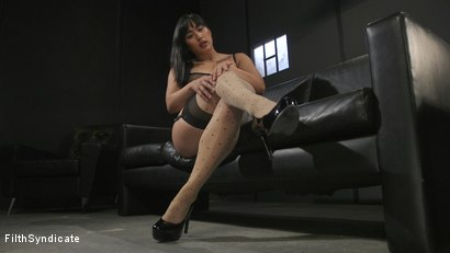 Photo number 6 from Kinky JOI: Mia Little's Slave Auditions shot for Filth Syndicate on Kink.com. Featuring Mia Little in hardcore BDSM & Fetish porn.