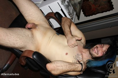 Photo number 20 from Rocker Licks his Cum shot for Alternadudes on Kink.com. Featuring Zaide in hardcore BDSM & Fetish porn.