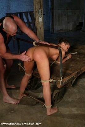 Photo number 8 from Rachel Starr shot for Sex And Submission on Kink.com. Featuring Mark Davis and Rachel Starr in hardcore BDSM & Fetish porn.