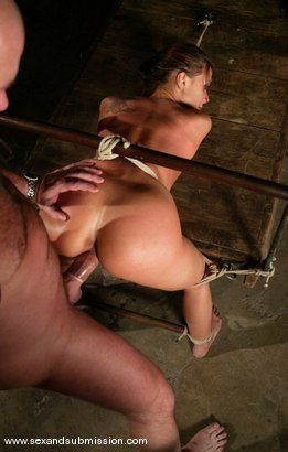 Photo number 10 from Rachel Starr shot for Sex And Submission on Kink.com. Featuring Mark Davis and Rachel Starr in hardcore BDSM & Fetish porn.