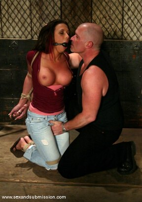 Photo number 2 from Rachel Starr shot for Sex And Submission on Kink.com. Featuring Mark Davis and Rachel Starr in hardcore BDSM & Fetish porn.
