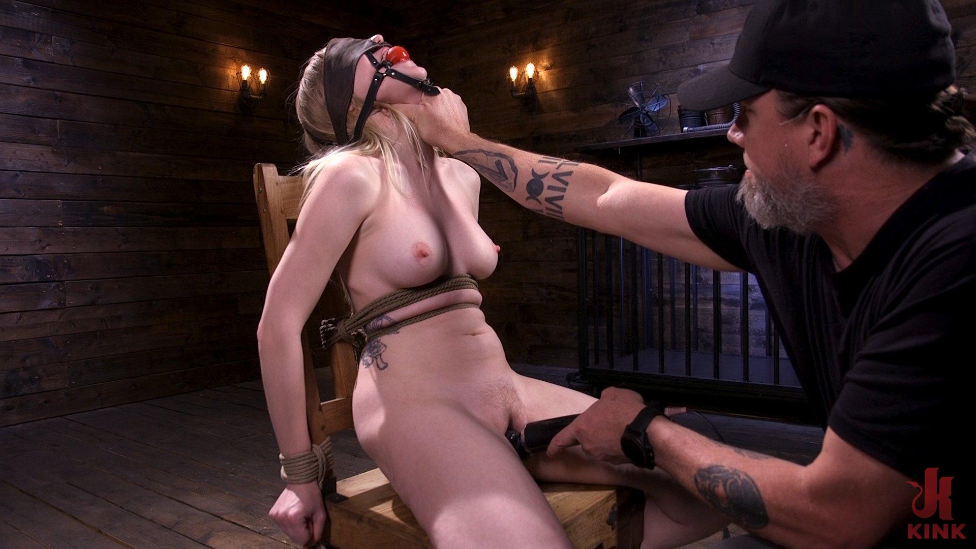 Photo number 5 from Sassy Pain Slut Gets Tormented in Bondage shot for Hogtied on Kink.com. Featuring Violet October in hardcore BDSM & Fetish porn.