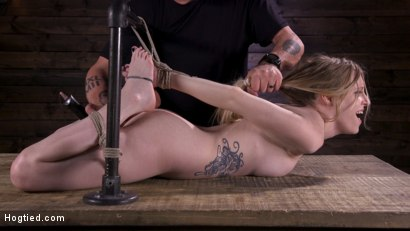 Sassy Pain Slut Gets Tormented in Bondage