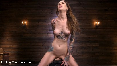 Photo number 12 from Sexy Alt Girl Rocky Emerson Has Nonstop Orgasms From Fucking Machines shot for Fucking Machines on Kink.com. Featuring Rocky Emerson in hardcore BDSM & Fetish porn.
