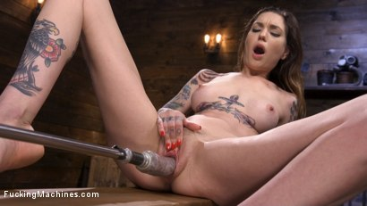 Photo number 5 from Sexy Alt Girl Rocky Emerson Has Nonstop Orgasms From Fucking Machines shot for Fucking Machines on Kink.com. Featuring Rocky Emerson in hardcore BDSM & Fetish porn.