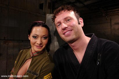 Photo number 1 from Sandra Romain and Devin shot for meninpain on Kink.com. Featuring Sandra Romain and Devin in hardcore BDSM & Fetish porn.