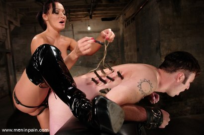 Photo number 10 from Sandra Romain and Devin shot for Men In Pain on Kink.com. Featuring Sandra Romain and Devin in hardcore BDSM & Fetish porn.