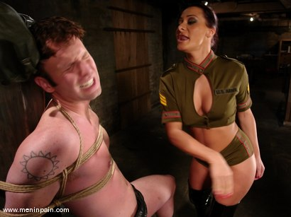 Photo number 5 from Sandra Romain and Devin shot for Men In Pain on Kink.com. Featuring Sandra Romain and Devin in hardcore BDSM & Fetish porn.