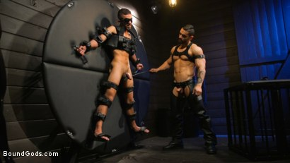 Photo number 1 from Arad's New Boy: Ricky Daniels Serves The House shot for Bound Gods on Kink.com. Featuring Arad Winwin and Ricky Daniels in hardcore BDSM & Fetish porn.