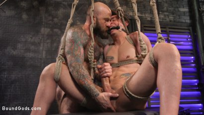 Photo number 29 from Beast Feast shot for Bound Gods on Kink.com. Featuring Jack Dixon and Luka Sage in hardcore BDSM & Fetish porn.