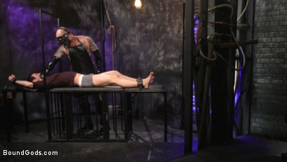 Photo number 2 from Beast Feast shot for Bound Gods on Kink.com. Featuring Jack Dixon and Luka Sage in hardcore BDSM & Fetish porn.