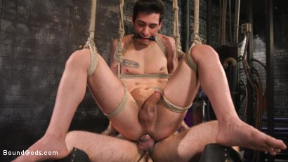 Photo number 25 from Beast Feast shot for Bound Gods on Kink.com. Featuring Jack Dixon and Luka Sage in hardcore BDSM & Fetish porn.