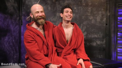 Photo number 34 from Beast Feast shot for Bound Gods on Kink.com. Featuring Jack Dixon and Luka Sage in hardcore BDSM & Fetish porn.