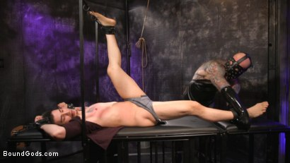 Photo number 7 from Beast Feast shot for Bound Gods on Kink.com. Featuring Jack Dixon and Luka Sage in hardcore BDSM & Fetish porn.