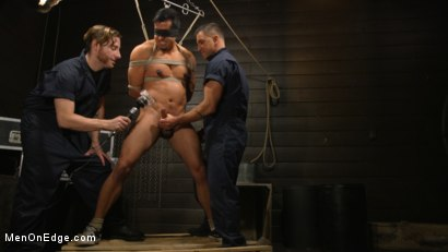 Photo number 11 from ...But Your Dick Says Yes: Tony Prower Edged In Full Suspension shot for Men On Edge on Kink.com. Featuring Tony Prower in hardcore BDSM & Fetish porn.