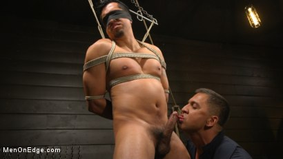 Photo number 6 from ...But Your Dick Says Yes: Tony Prower Edged In Full Suspension shot for Men On Edge on Kink.com. Featuring Tony Prower in hardcore BDSM & Fetish porn.