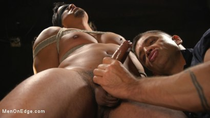 Photo number 9 from ...But Your Dick Says Yes: Tony Prower Edged In Full Suspension shot for Men On Edge on Kink.com. Featuring Tony Prower in hardcore BDSM & Fetish porn.
