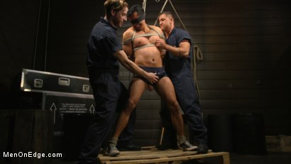 Photo number 3 from ...But Your Dick Says Yes: Tony Prower Edged In Full Suspension shot for Men On Edge on Kink.com. Featuring Tony Prower in hardcore BDSM & Fetish porn.