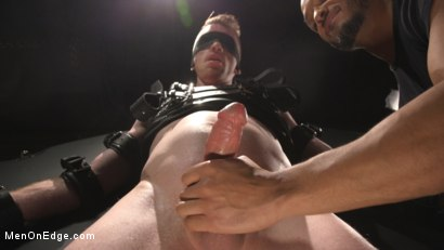Photo number 14 from Inside, Sideways, Upside Down: Nick Fitt Gets Edged Every Which Way shot for Men On Edge on Kink.com. Featuring Nick Fitt in hardcore BDSM & Fetish porn.