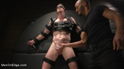 Photo number 16 from Inside, Sideways, Upside Down: Nick Fitt Gets Edged Every Which Way shot for Men On Edge on Kink.com. Featuring Nick Fitt in hardcore BDSM & Fetish porn.