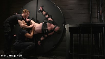 Photo number 22 from Inside, Sideways, Upside Down: Nick Fitt Gets Edged Every Which Way shot for Men On Edge on Kink.com. Featuring Nick Fitt in hardcore BDSM & Fetish porn.