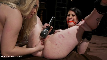 Photo number 30 from Lydia Black is Aiden Starr's Pain Piggy shot for Whipped Ass on Kink.com. Featuring Aiden Starr and Lydia Black in hardcore BDSM & Fetish porn.