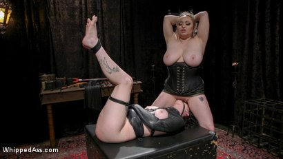Photo number 16 from Lydia Black is Aiden Starr's Pain Piggy shot for Whipped Ass on Kink.com. Featuring Aiden Starr and Lydia Black in hardcore BDSM & Fetish porn.