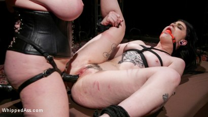 Photo number 19 from Lydia Black is Aiden Starr's Pain Piggy shot for Whipped Ass on Kink.com. Featuring Aiden Starr and Lydia Black in hardcore BDSM & Fetish porn.