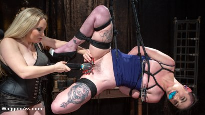 Photo number 6 from Lydia Black is Aiden Starr's Pain Piggy shot for Whipped Ass on Kink.com. Featuring Aiden Starr and Lydia Black in hardcore BDSM & Fetish porn.
