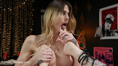 Photo number 20 from Noisy Nympho Neighbor shot for TS Pussy Hunters on Kink.com. Featuring Casey Kisses and Charlotte Sartre in hardcore BDSM & Fetish porn.